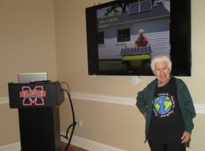 "Sister Paula Gonzalez, the ""solar nun,"" visited Milligan College on April 30th."