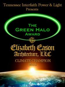 Green Halo Award 9x12, Elizabeth Eason, Fleetwood 5+S b©
