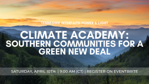 Climate Academy Green New Deal